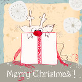 Cute Christmas card Royalty Free Stock Photography