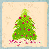 Cute Christmas card Stock Images