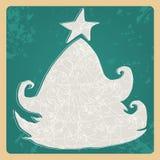 Cute Christmas card Stock Photography