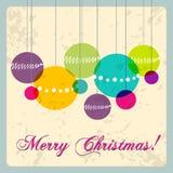 Cute Christmas card Royalty Free Stock Photos
