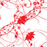 Cute Christmas flowers Royalty Free Stock Images