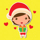 Cute Christmas Stock Images