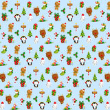 Cute Christmas Item Background Royalty Free Stock Photo