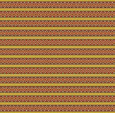 Cute Christmas or new year template with red, green and yellow z. Ig zag striped pattern. Vector illustration, banner, card for design stock illustration