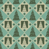 Cute christmas pattern Royalty Free Stock Photo