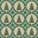 Cute christmas pattern Stock Photography