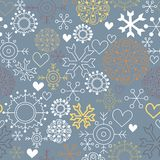 Cute christmas pattern Royalty Free Stock Image