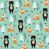Cute Christmas pattern Royalty Free Stock Photography