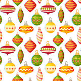 Cute christmas seamless pattern Royalty Free Stock Image