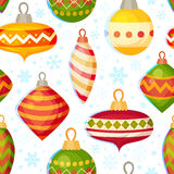Cute christmas seamless pattern Stock Images