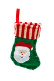 Cute Christmas stocking Stock Image