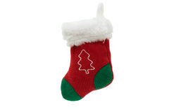 Cute Christmas stocking Stock Photography