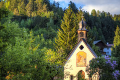 Cute church in small Italian village Royalty Free Stock Photos