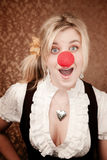 Cute Clown Royalty Free Stock Photography