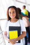 Cute college student Stock Photo