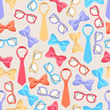 Cute colored accessories Royalty Free Stock Images