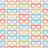 Cute colored glasses Royalty Free Stock Photography