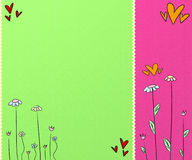 Cute colorful background Royalty Free Stock Image