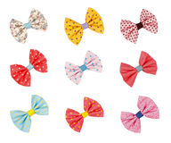 Cute colorful children hairpin Stock Images