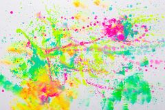 Cute colorful creative abstract art royalty free stock image