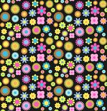 Cute colorful floral seamless pattern. Vector background. vector illustration