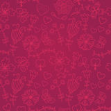 Cute colorful floral seamless pattern Royalty Free Stock Photography