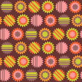 Cute colorful seamless pattern Royalty Free Stock Photo