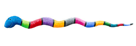 Cute colorful snake Stock Photography