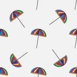 Cute colorful umbrellas Royalty Free Stock Image