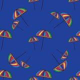 Cute colorful umbrellas. Stock Image