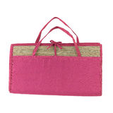 Cute compact mat for picnic or outdoor activity Stock Image