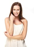 Cute Confident Young Woman Stock Photography