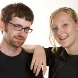 Cute Contemporary Couple Stock Photos