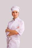 Cute Cook Girl Stock Photos