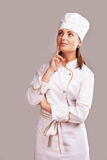 Cute Cook Girl Royalty Free Stock Photo