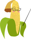 Cute corn Stock Image