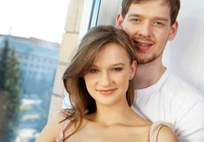 Cute couple Royalty Free Stock Photos