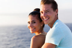 Cute couple cruise Stock Photography
