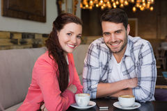 Cute couple on a date Royalty Free Stock Photography