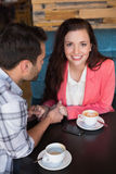 Cute couple on a date Royalty Free Stock Photo