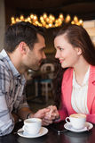 Cute couple on a date Stock Photography