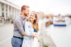 Couple embracing love royalty free stock image