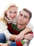 Cute couple are inlove in each other Stock Image
