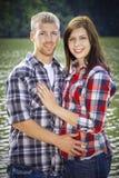 Cute couple Stock Photos