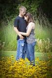Cute couple Royalty Free Stock Photos
