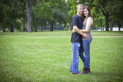 Cute couple Royalty Free Stock Photo