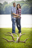 Cute couple Royalty Free Stock Image