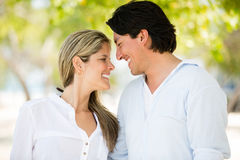 Cute couple in love Stock Photo