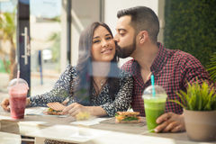 Cute couple in love Stock Image