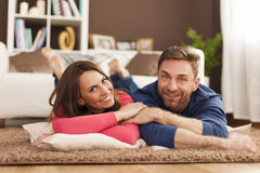 Cute couple royalty free stock images